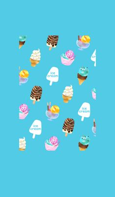 It is a cute and refreshing ice cream Theme. Please change to those who like ice cream, soft cream, sweets, parfait and dessert.