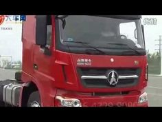 Beiben V3 tractor trucks in road test driving--China Benz Actros