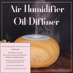 Air Humidifier & Diffuser     WAVE GOODBYE TO STRESS, ANXIETY, EXHAUSTION  NO MORE ENERGY SLUMPS, LACK OF FOCUS AND PRODUCTIVITY     Subscribe and get 30% off all products     Confused about essential oils & accessories?    Subscribe and get FREE GUIDES on how to use your Products     #corporatestress #corporatewellness #essentialoils #workstress  #howtohandleworkstress #workstressmanagement #officestress  #officeanxiety #essentialoilsforstress #essentialoilsforanxiety Essential Oils For Migraines, Essential Oils For Headaches, Essential Oils For Sleep, Essential Oil Diffuser Blends, Burnout Recovery, Job Burnout, Work Stress, Stress And Anxiety, Oils For Energy