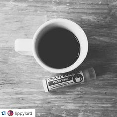 #coffee + #lipbalm. #Monday style, via @lippylord! Thanks for sharing  ・・・ One week later and half a tube later... I can say this coffee bean lip balm is a must have! *applies lip balm while typing this* #coffeebean #crazyrumors #addicted