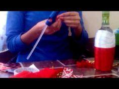 Один из вариантов как украсить бутылку для подарка - YouTube Liquor Bottle Crafts, Diy Bottle, Liquor Bottles, Glass Bottles, Bridal Shower Prizes, Crafts With Glass Jars, Wrapped Wine Bottles, Chocolate Bouquet, Altered Bottles