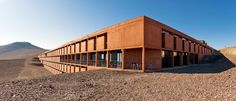 Auer + Weber - European Southern Observatory's Paranal Observatory in northern Chile Commercial Architecture, Modern Architecture, James Bond, Auer Weber, Adventure Hotel, Nomad Hotel, Deserts Of The World, Places To See, The Past