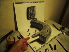 Stunning 3D Pencil Drawings by Nagai Hideyuki | DeMilked