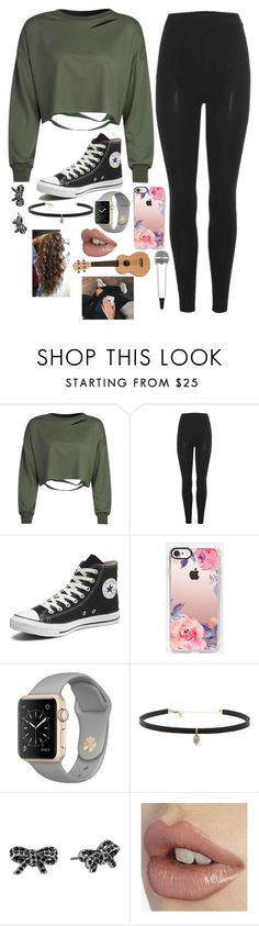 """""""Rehearsals Day One"""" by willow-wonder ❤ liked on Polyvore featuring WithChic, adidas Originals, Converse, Casetify, Carbon & Hyde, Marc Jacobs and IK Multimedia"""