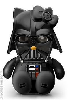 Hello Kitty Vader. Jeff Vader's sister?