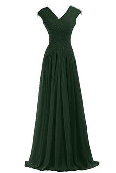 Sunvary Elegant Pleated Chiffon Mother of the Bride Dresses Long US Size 2- Dark Green Sunvary http://www.amazon.com/dp/B00SKIAUWM/ref=cm_sw_r_pi_dp_Tgocvb0YPTAV5