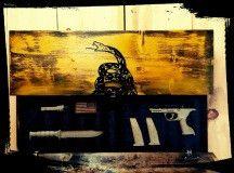 Don't Tread On Me - Custom Wooden Flag (Hidden Compartment) - The Ole Bull Co.