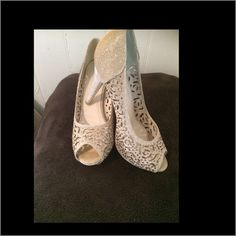 Gorgeous pair of heels Gorgeous pair of heels only worn once Shoes Heels