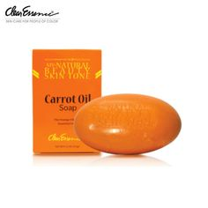 Carrot oil soap full of anti oxidants and properties to help rejuvenate wrinkled, aged skin