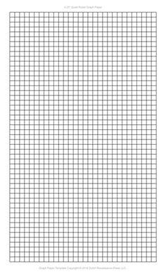 Graph Paper Template 8 5x14 Legal Printable Pdf Pixel Art A