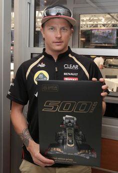 Kimi Raikkonen #Lotus500Races #MonacoGP