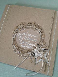 Freshly-Made Sketches 311 – Christmas DIY Holiday Cards Homemade Christmas Cards, Homemade Cards, Handmade Christmas, Christmas Crafts, Christmas Tree, Christmas Card Making, Xmas Cards Handmade, Christmas Island, Christmas Vacation