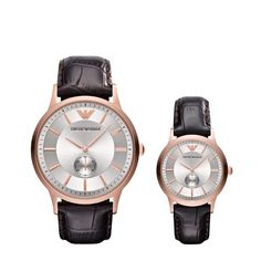 His and Hers Watch Sets - Even in this age of cell phones, there's something special about a matching watch set for couples. You could always include a message about timeless love with your gift...