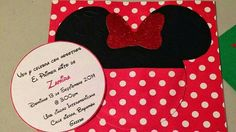 Check out this item in my Etsy shop https://www.etsy.com/listing/505982308/minnie-mouse-red-and-black-birthday