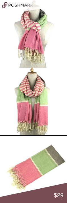 New arrival candy color stripe scarf. new arrival cotton American and Europe Candy color stripe scarf women's shawls and scarves ladies,  Females Item Discription   Item: TypeScarves Pattern: TypeGeometric Scarves TypeScarf Gender: Women Material: cotton Scarves Length>175cm Size:70*180cm Accessories Scarves & Wraps