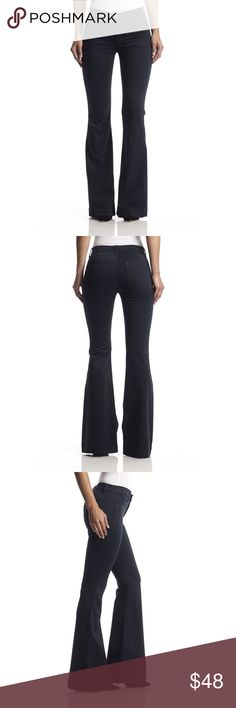"Hudson Taylor High-Rise Flare 23 Excellent used condition (no flaws). Dark blue, Hudson calls this color midnight.  * size 23  * 31"" inseam     Ships with 24hrs ✈️ Hudson Jeans Jeans Flare & Wide Leg"