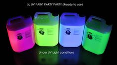 UV Glow Neon Body Paint - 5 Litres Ready to Use for Messy Paint Parties paintglow http://www.amazon.co.uk/dp/B00O45FEYO/ref=cm_sw_r_pi_dp_.UoYvb0A5G9A0