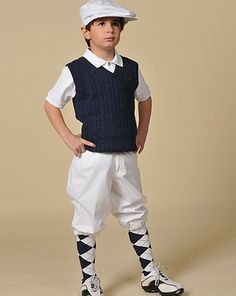 Children's outfits.