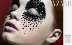 Harper's Bazaar Russia with make up by Paul Innis - Google Search