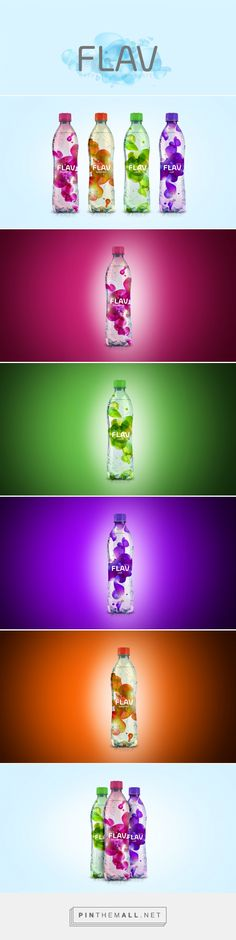 FLAV Soda by Sebastián González. Source: Behance. Pin curated by #SFields99 #packaging #design - created via https://pinthemall.net