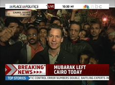 Richard Engel, NBC News Chief Foreign Correspondent. Reporting from the Middle East since start of the Iraq War in 2003.