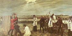File:Thorma János painter Execution of the Martyrs of Arad after 1848 Hungarian Revolution European History, World War I, 19th Century, Past, Painting, Image, Hungary, Artworks, Google