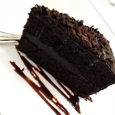 Life is better with Chocolate Cake 💓 . Destress, Chocolate Cake, Life Is Good, Good Things, Cakes, Brown, Instagram, Food, Chicolate Cake