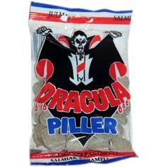 Dracula salmiakkikaramelli 65g