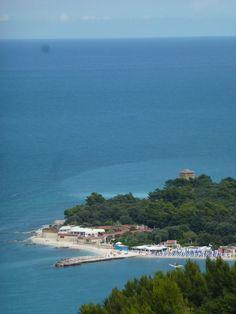 Conero kust Le Marche Italy