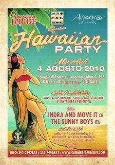 Summer Jamboree 2010 Hawaiian party