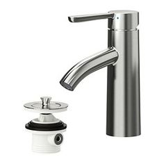 "DALSKÄR Bath faucet with strainer - $80. Article #602.813.04   24 x 15 x 30"" IKEA"