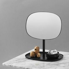 The Normann Copenhagen Flip Mirror is a full adjustable and multifunctional desktop mirror that lends itself to a range of interior applications . Buy contemporary home accessories now at Utility Design. Copenhagen, Home Accessories, Contemporary, Mirror, Bedroom, Design, Home Decor, Decoration Home, Room Decor
