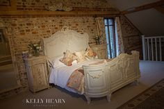 Bedroom in Jasmine Cottage at Upwaltham Barns