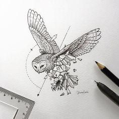 Wonderful hand painted animal illustration