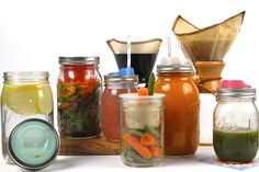 Cuppow is a smart way to turn your mason jars in to a safe and easy drink, salad, or dressing container.