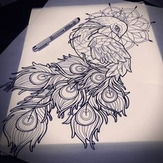 Top 150 Feather Tattoo Designs For Women and Men nice
