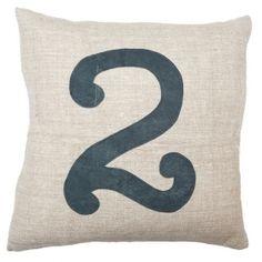 Number Pillow #2
