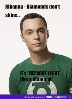 You go Sheldon!