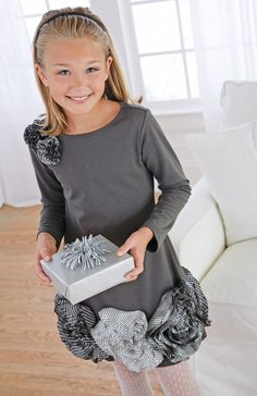Could this dress be any cuter?! Little fashionista