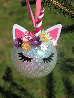 Ball of Noël Licorne Unicorn with name room decoration Christmas Unicorn tree deco Unicorn Unicorn Unicorn glitter Unicorn Christmas, Christmas Tree Forest, Handmade Christmas Tree, Decoration Christmas, Christmas Ad, Christmas Balls, Simple Christmas, Christmas Crafts, Christmas Ornaments
