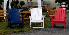 These are the good ole days when we just sat around under the trees in chairs like these!!!