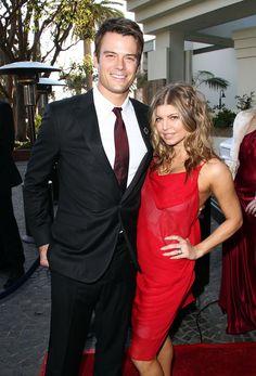 Josh Duhamel and Fergie