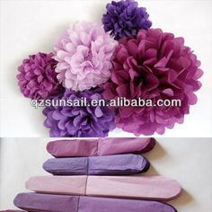Resultado de imagen para flores de papel china