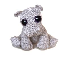 Hippo Amigurumi Crochet Pattern PDF Instant Download - Rosie
