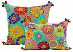 Cushion Cover NEW Designer Foral Embroidered Appliqued Exquisite 33x48 AF | eBay