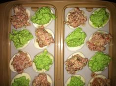 """Green Eggs and Ham """"I made this recipe up for my grandchildren after buying them a new book…'Green Eggs and Ham'...but we also eat these for St. Patrick's Day and Easter! It is a fun and easy recipe…"""""""