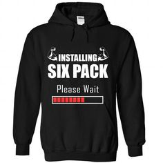 Six Pack... Tee - #anniversary gift #thoughtful gift. WANT => https://www.sunfrog.com/Sports/Six-Pack-Tee-4816-Black-Hoodie.html?68278