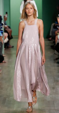 Tibi Spring Summer 2016 - Rose Overall Dress