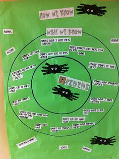circle map includes how we know on the outer circle