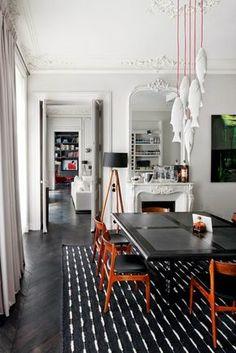 Modern French contemporary parisian Interiors 14